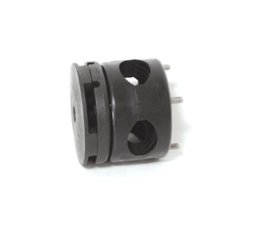 Connector and rail mount